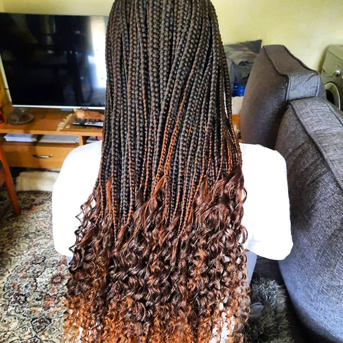 we can spice it up and give you that goddess look with this cute bohemian braids